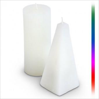 12cm kerze mit farbwechsler und batterie led kerzenlicht. Black Bedroom Furniture Sets. Home Design Ideas