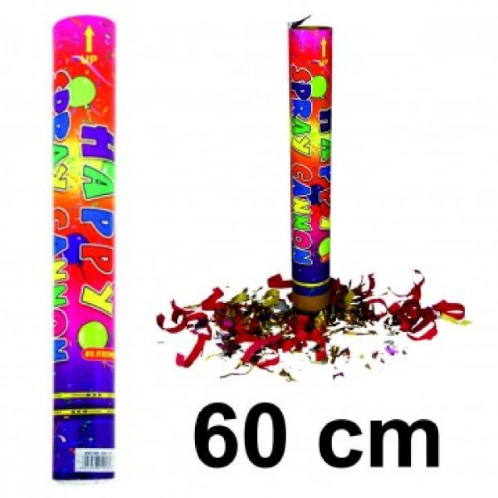 popper konfetti bombe 60 cm reichweite bis zu 15 m rohrl nge 60cm. Black Bedroom Furniture Sets. Home Design Ideas