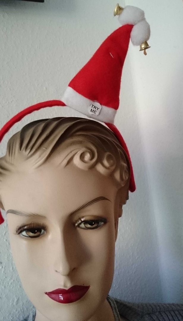Weihnachts muetze weihnachts mini m tze 2 x bommel - Weihnachts status ...