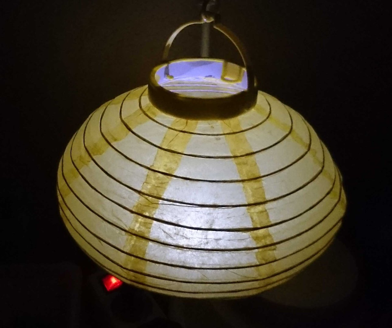 led lampion laterne 20 cm durchmesser mit batterie an aus schalte. Black Bedroom Furniture Sets. Home Design Ideas