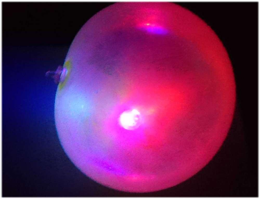 Ballonnen Met Licht : Led ball fun ballon glitzer mit buntem licht luftblase spielball