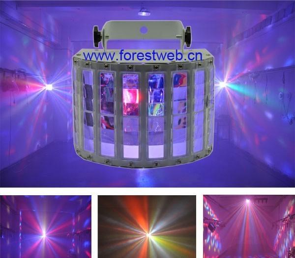 Verwonderend 9 Farben LED LICHT SHOW LCD DMX Galaxy magic LED-Licht Sound Acti MI-91