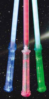 LED NEONSCHWERT CLOWN 74 cm geballte Lichtpower. 30 LEDs LASER SCHWERT