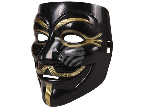 RB Maske V wie Vendetta Guy Fawkes Anonymous GUYFAWKES Karneval Fasching
