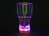 LED Cola BECHER blinkend Multicolor LED flashing mug 14 cm gross. light