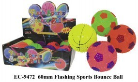 Flashing Sportball leuchtend LED Ball sport leucht blinkender Flashball Licht Kugel