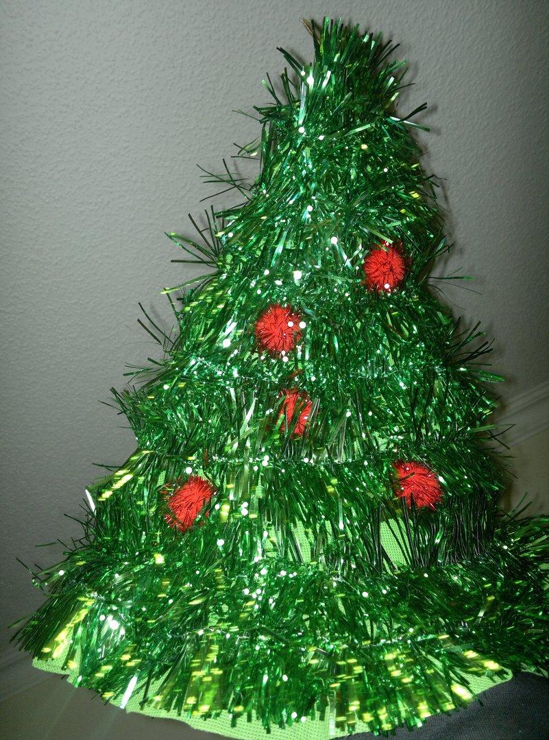 weihnachtsm tze green tree weihnachtsbaum gr n mit stern. Black Bedroom Furniture Sets. Home Design Ideas