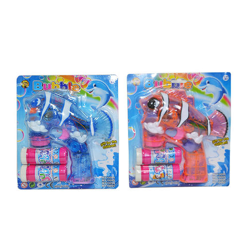 SEIFENBLASEN PISTOLE Licht BUBBLE GUN NEMO clownfisch Musik Sound clown fish