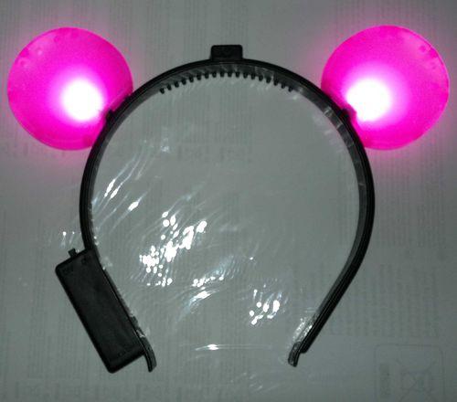 RB LED Haarreifen 2021 Leucht Blink Haar reifen Mausohren Mouseohren Haar Reif blinky Haarreif