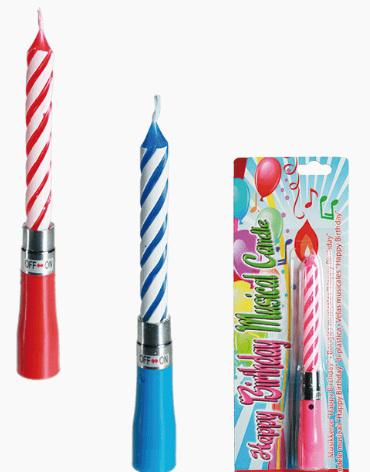 ootb Happy Birthday Kerze mit Musik Musikkerze - Happie Birthdai Candle with Sound