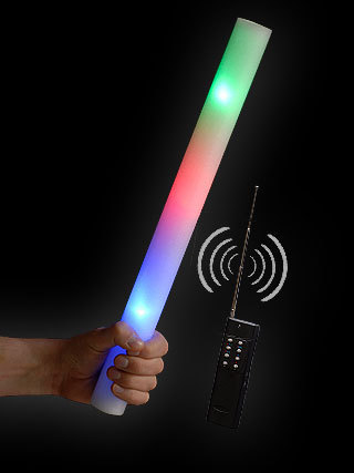 Blinkyman light sword saber sabre led laser star war s led light bar rc remote control remote controllable foam rod rod foam rod 40 cm aloadofball Gallery