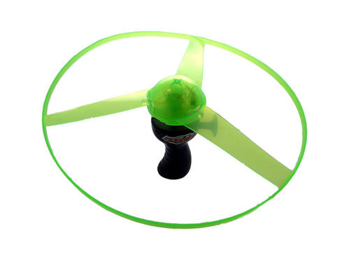 Magic LED Flugkreisel UFO mit Licht Twister blinkender Flug Rotor Propeller tolle Effekte 25cm