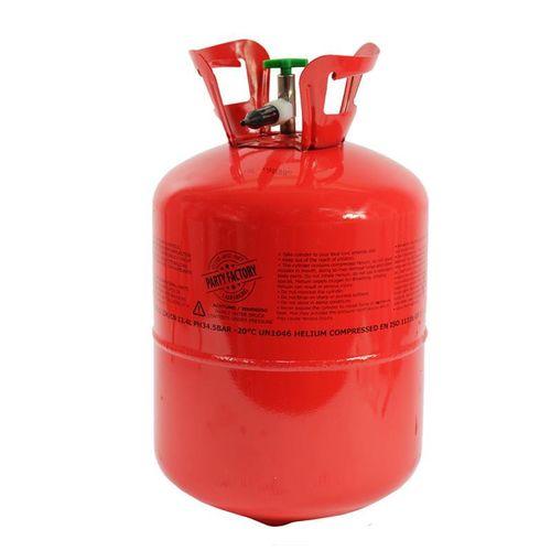 kögler Ballon Gas, 99,99% Helium, für bis zu 50 Ballons, 43x24 cm Heliumflasche